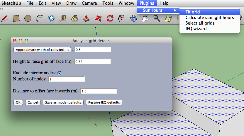 Sunhours Documentation - A Sketchup Plugin for Visualising Sunlight